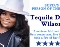 Busta's Person of the Week:  American Idol and Sunday Best contestant, live in concert, with a few of her friends
