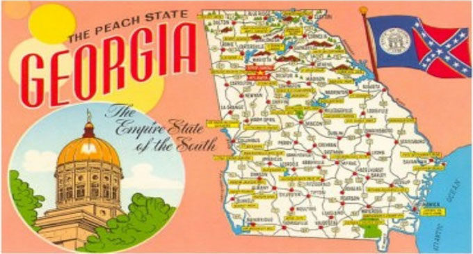 Commentary: The Peach State has sunk into a shameful voting pit
