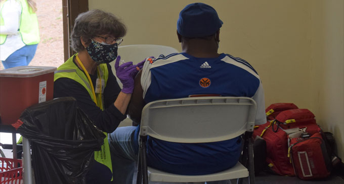 Local NAACP hosts COVID-19 vaccination clinic