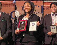 First Waughtown teens win scholarships in Thomasville Oratorical Contest