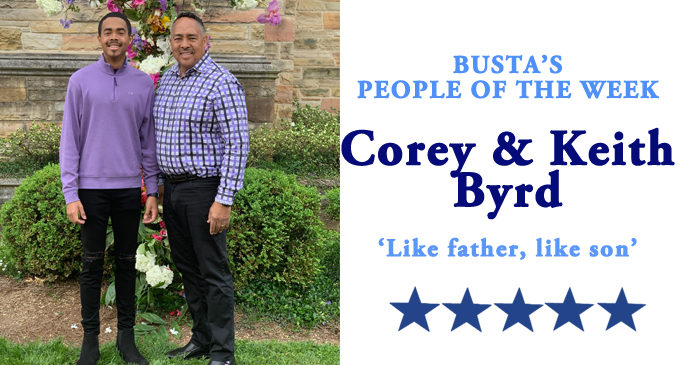 Busta's People of the Week: Like father, like son