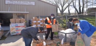 Crisis Control partners with HARRY to provide food for vets