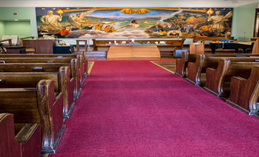 Mission church in Asheville features rare fresco of real people of their community
