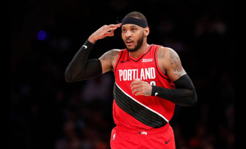 Let's give Carmelo his just due