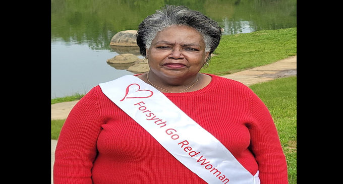 Forsyth County's Go Red Woman says, 'You know your body best!'