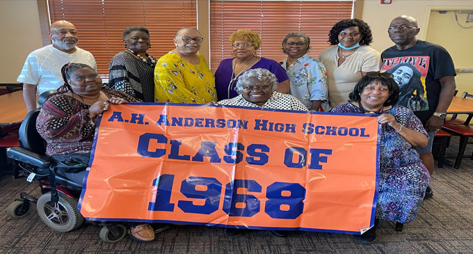 A.H. Anderson High School Class of 1968 celebrates  53rd class reunion