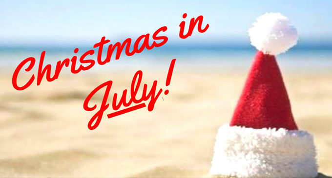 Christmas in July to benefit  Senior Services