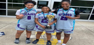 Three Lady Eagles headed to same destination  on the next level