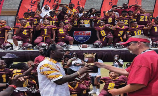 Local youth football teams takes third place at national tournament