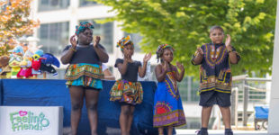 Larry Little delivers powerful message during Juneteenth Freedom Ceremony