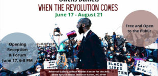 Arts Council to host social  justice-themed exhibitions by Owens Daniels and Triad  Cultural Arts