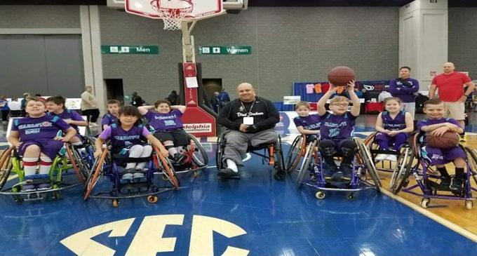 Local organization looks to start youth wheelchair  basketball team