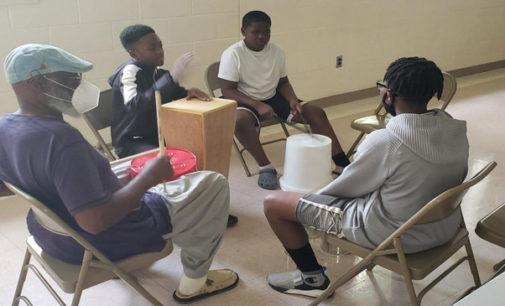 Drumming program a big hit at local rec center
