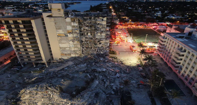 Commentary: The Surfside condo collapse is sad and filled with suffering