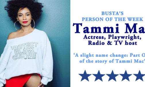 Busta's Person of the Week: A slight name change, a big life change: Part one of the story of Tammi Mac