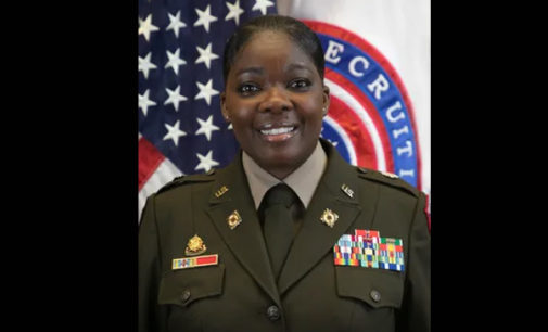 Army New England Recruiting Battalion names first woman, African American as commander