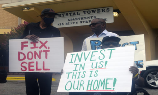 Crystal Towers residents plead: 'Save our homes'
