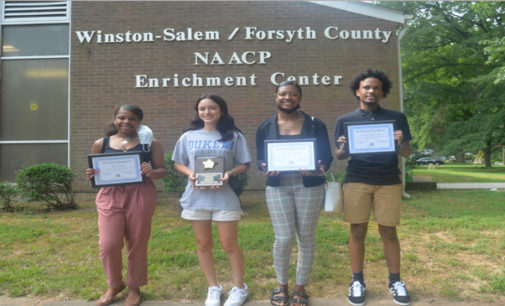 NAACP awards scholarships to local students