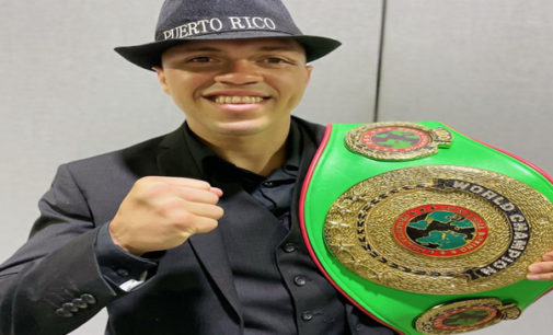 Local fighter wins world championship