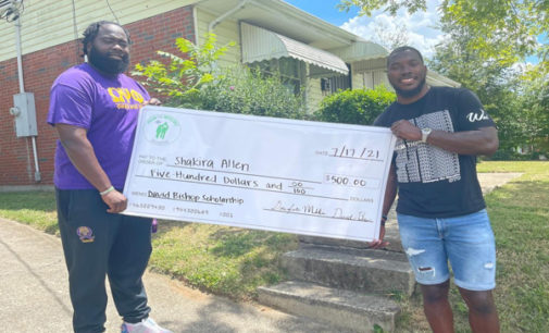 Local educator gives financial assistance to graduating seniors