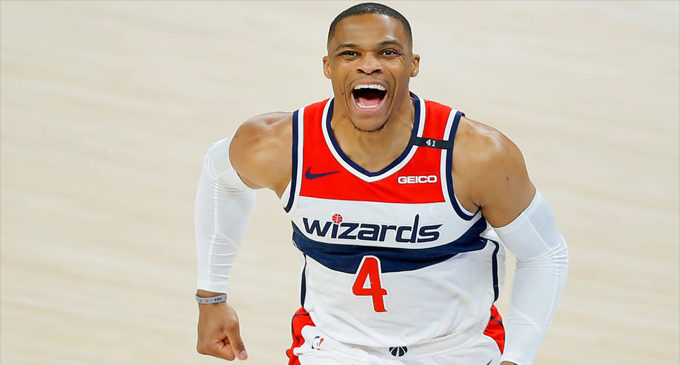 Does the  Russell  Westbrook trade change  the balance of power in the NBA?