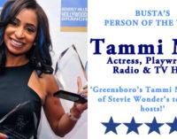Busta's Person of the Week: Greensboro's Tammi Mac is one of Stevie Wonder's top radio hosts!