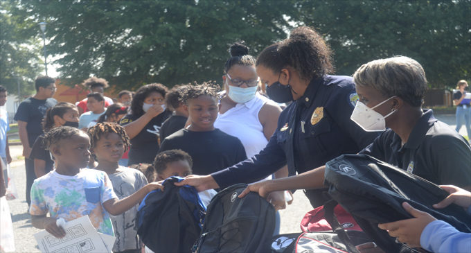 WSPD, Police Foundation continue annual book bag giveaway