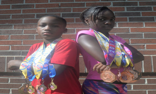 Local student athletes  earning medals in state, national track & field