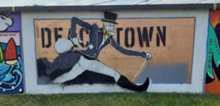 Is removal of local artist's mural art censorship?