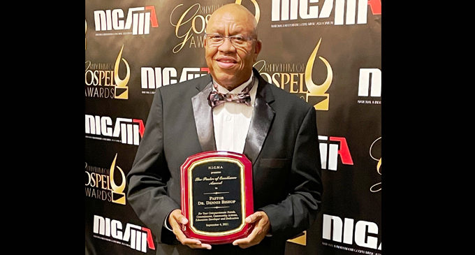 Local minister receives Pastor of Excellence award