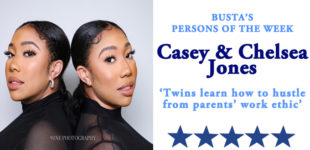Busta's Persons of the Week: Twins learn how to hustle from parents' work ethic