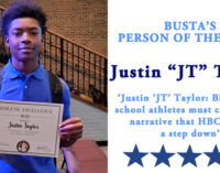 Busta's Person of the Week: Justin 'JT' Taylor: Black high school athletes must change the narrative that HBCUs are a step down