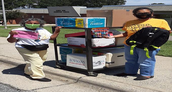 NWOA Winston-Salem  chapter adopts Forest Park  Elementary School