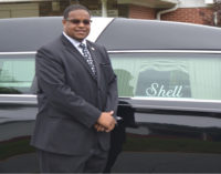 Shell follows dream of becoming funeral director, looks to pay it forward