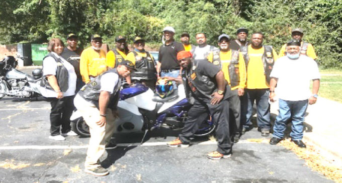 Motorcycle clubs join together to feed the community